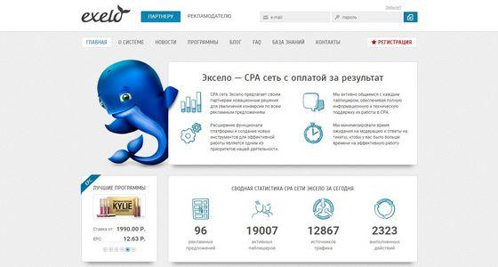 отзывы о CPA сети exelo
